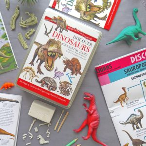 Wonders of Learning – Discover Dinosaurs Educational Tin Set