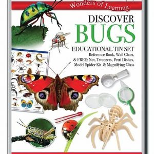 Wonders of Learning – Discover Bugs Educational Tin Set