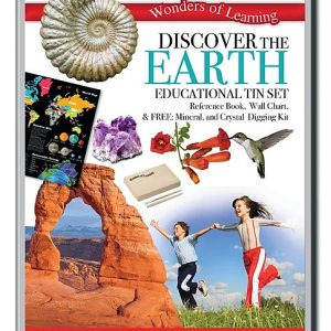 Wonders of Learning – Discover The Earth Educational Tin Set