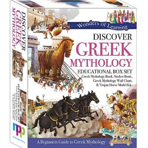 Wonders of Learning Box Set – Discover Greek Mythology