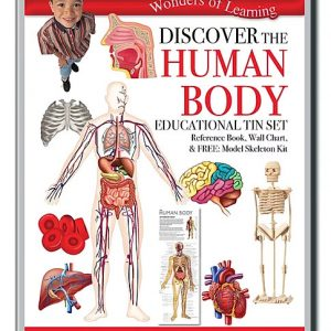 Wonders of Learning – Discover The Human Body Educational Tin Set