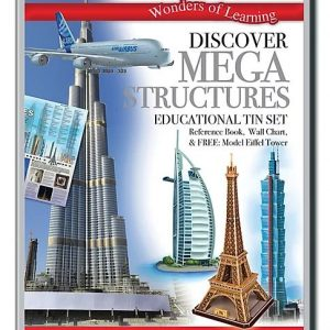Wonders of Learning – Discover Mega Structures Educational Tin Set