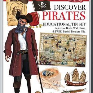 Wonders of Learning – Discover Pirates Educational Tin Set