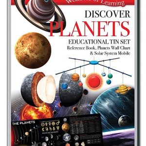 Wonders of Learning – Discover Planets Educational Tin Set