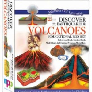 Wonders of Learning Box Set – Discover Earthquakes & Volcanoes