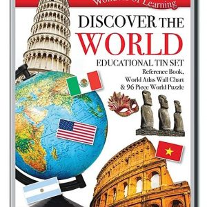 Wonders of Learning – Discover the World Educational Tin Set