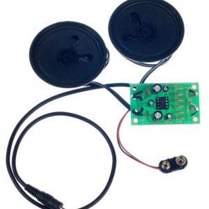 Kitronik Stereo Amplifier kit