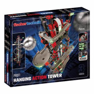 Hanging Action Tower – Marble run The world's first suspended marble run